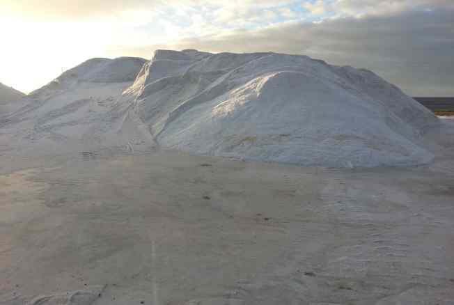 Foto del cumulo di sale